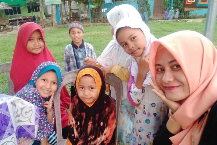 Anak-anak di Yayasan Ar-Rahman